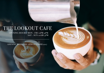 The Lookout Cafe Poster